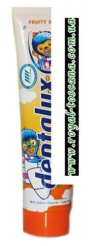 Детская зубная паста Dentalux