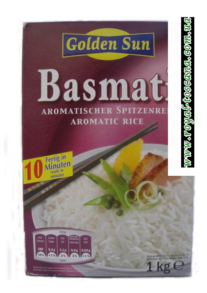 Рис белый Basmati Golden Sun