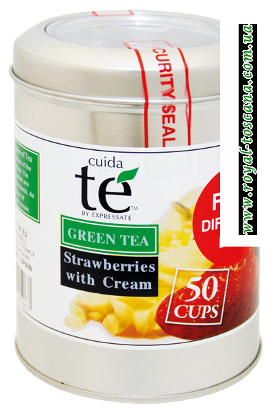 Зеленый чай Cuida Te Strawberries with Cream