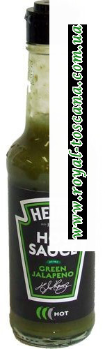 Cоус Heinz Hot Sauce Green Jalapeno