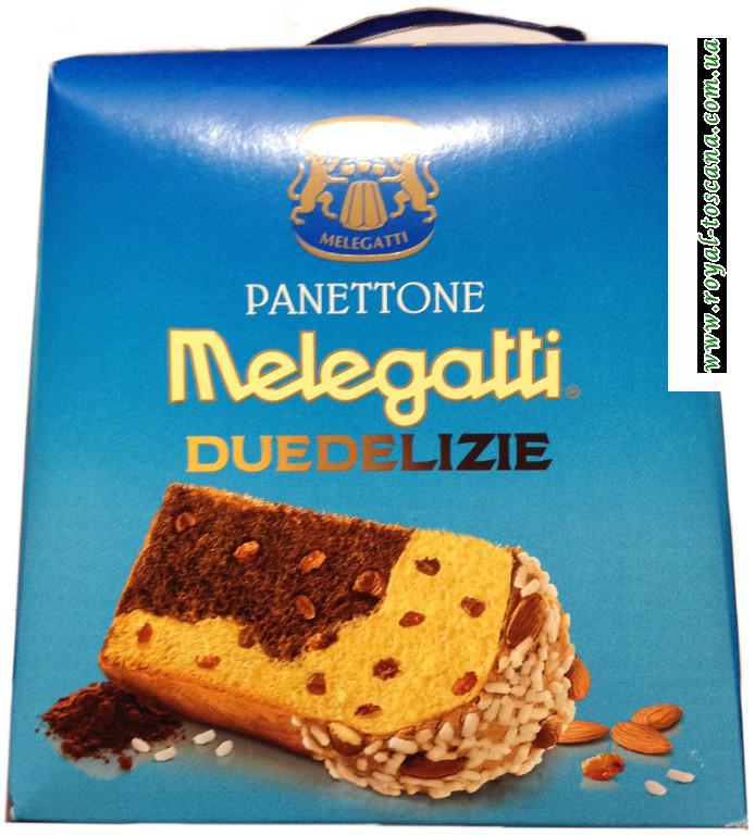 "Панеттон ""Melegatti"" duedelizie"