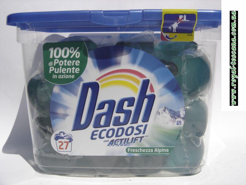 """Жидкий порошок  в подушечках """"DASH"""""""
