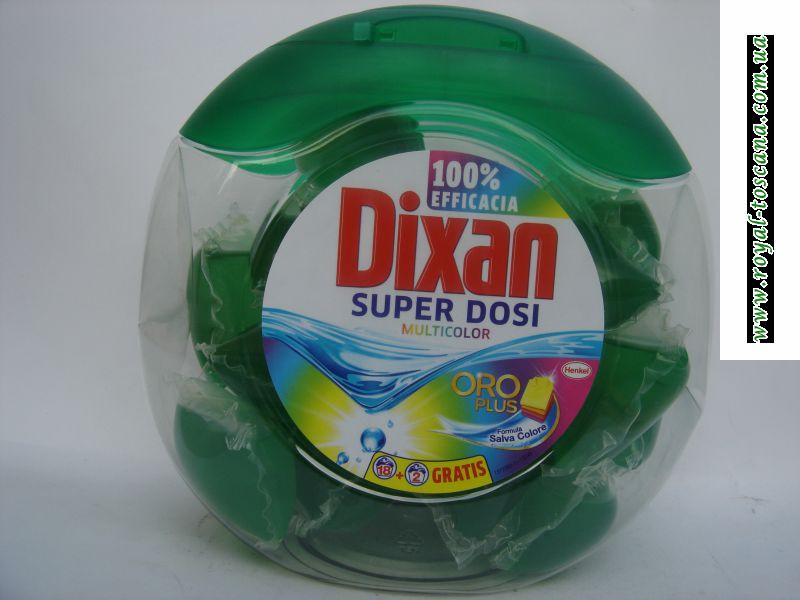 """Жидкий порошок  в подушичках """"DIXAN"""""""
