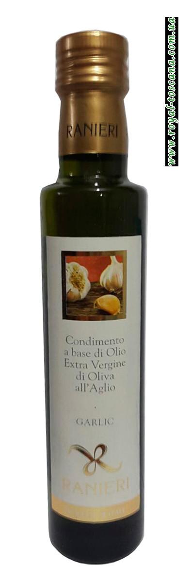 Оливковое масло Ranieri Olio Extravergine di Oliva all'Aglio