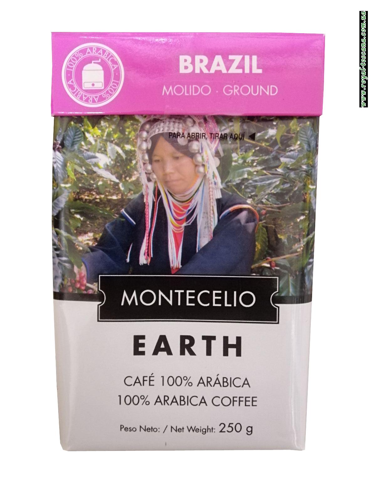 Кофе молотый Brazil Montecelio Earth, 250г