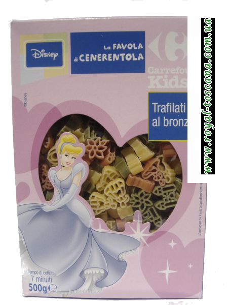 """Детские макароны la Favola di Cenerentola """"Disney"""""""