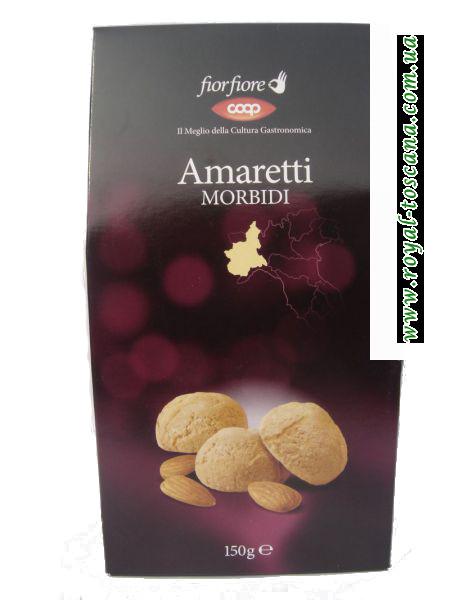 Печенье цельным миндалём Amaretti morbidi