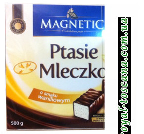 Конфеты Magnetic Ptasie Mleczko