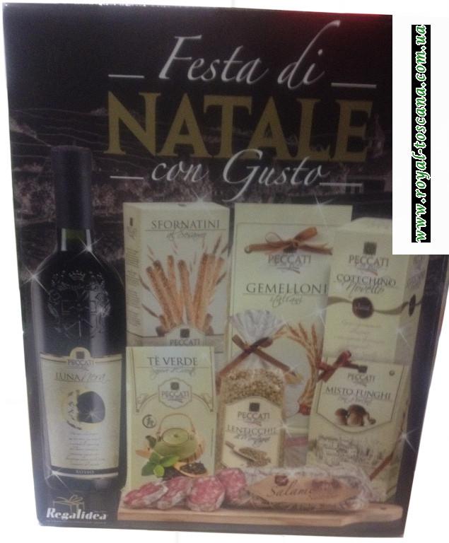 """Подарочный набор """"Regalidea"""" Festa di Natale con Gusto"""
