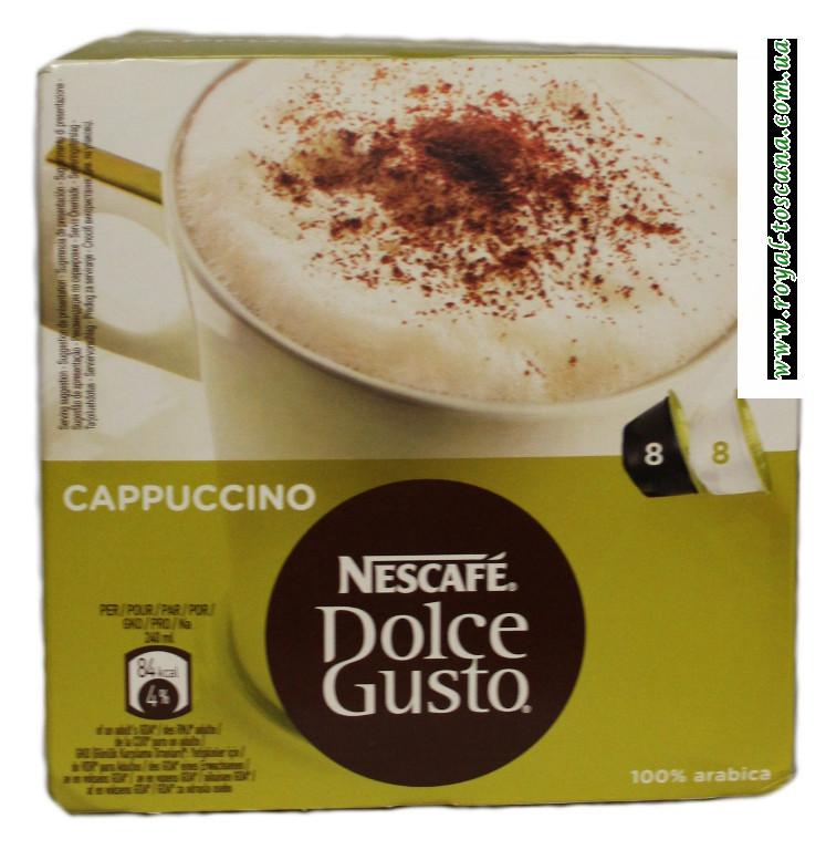 Капучино в таблетках Nescafe Docle gusto