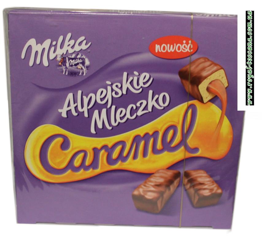 Конфеты Milka Alpejskie Mleczko Caramel