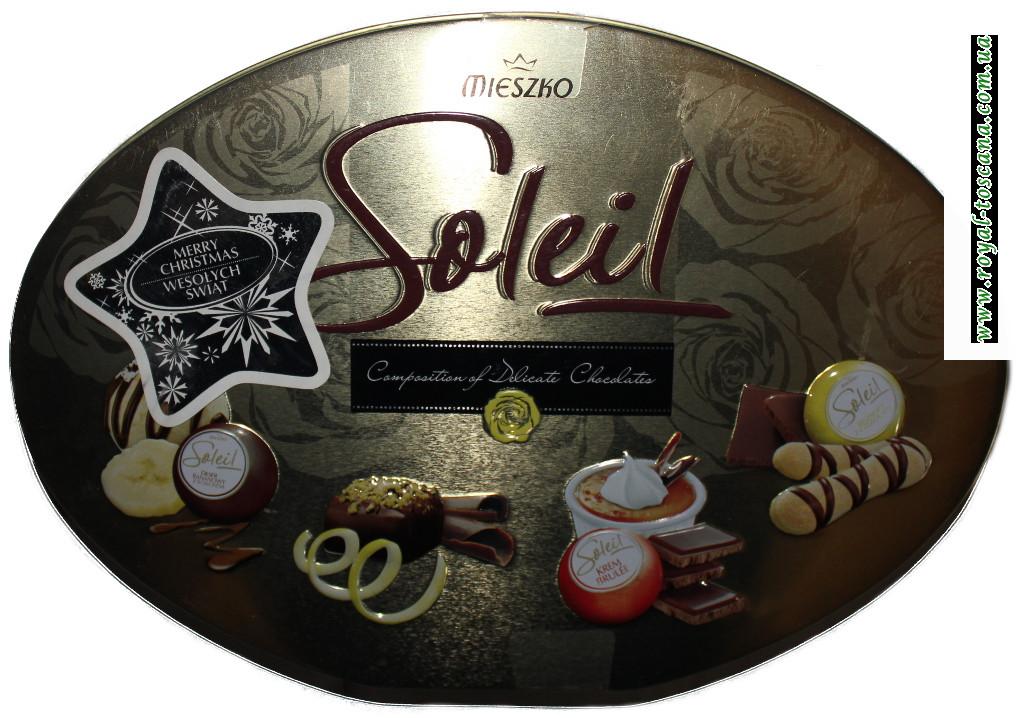 Конфеты Mieszko Soleil