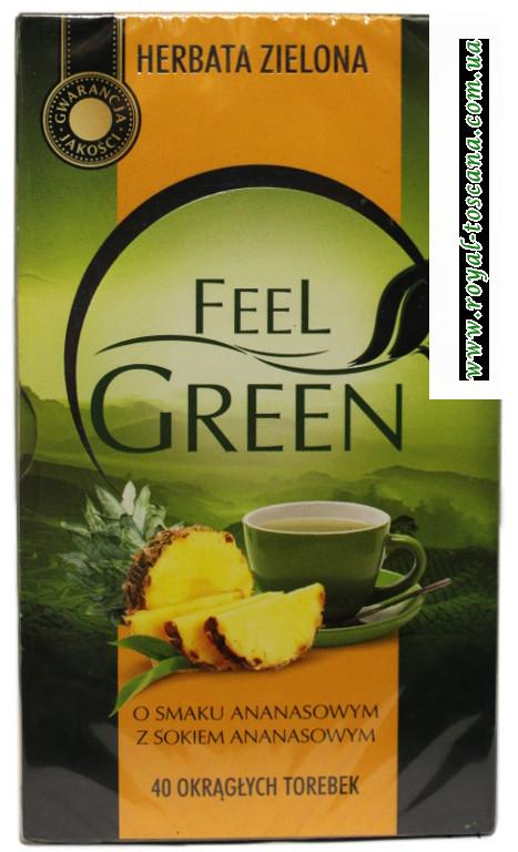 Чай Feel Green с ананасом