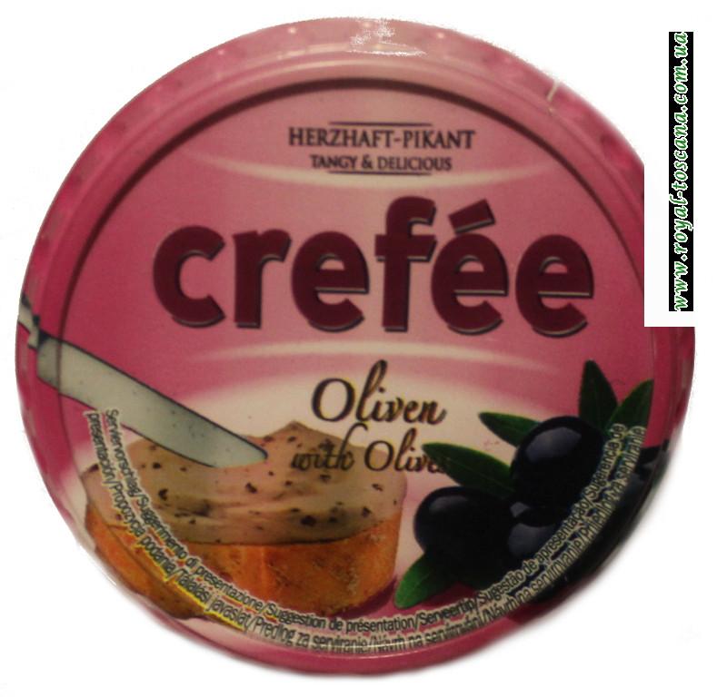 Сыр Crefee с чёрными оливками