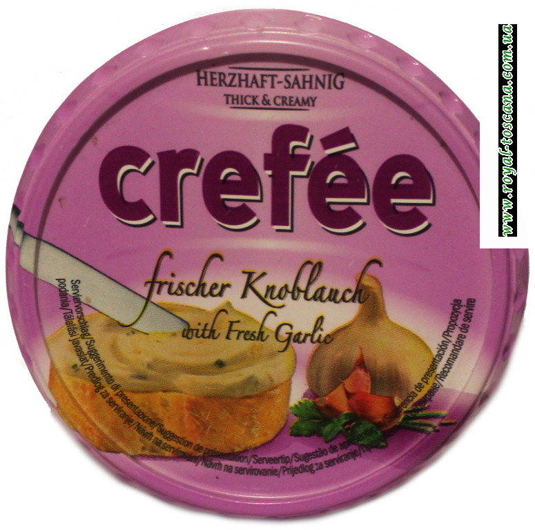 Сыр Crefee с чесноком