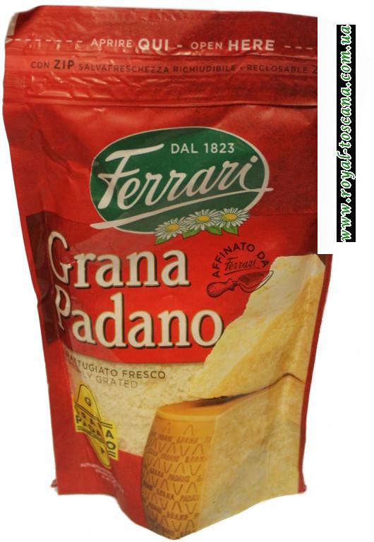 Сыр тертый Ferrari Grana Padano