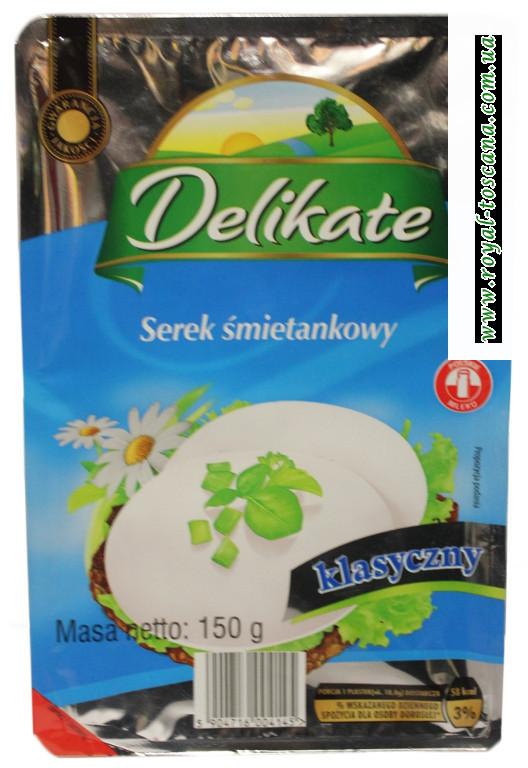 Сыр Delikate Serek Smietankowy класический