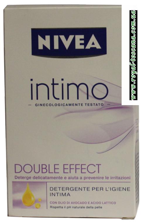 Жидкое мыло для интимной гигиены Nivea Intimo Double Effect