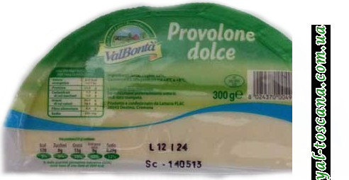 Сыр ValBonta Provolone dolce