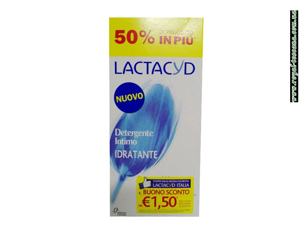 Жидкое мыло для интимной гигиены Lactacyd Detergente Intimo Idratante