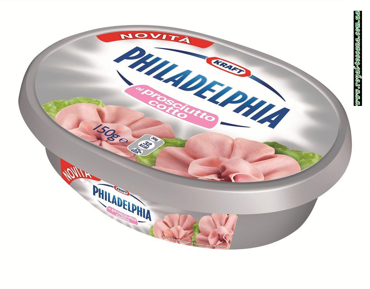 """Сыр """"Philadelphia"""" al prosciutto cotto"""