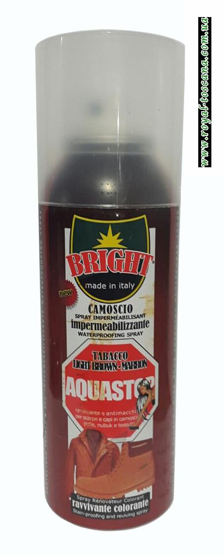 Краска для кожи, цвет коричневый Aquastop Tabacco