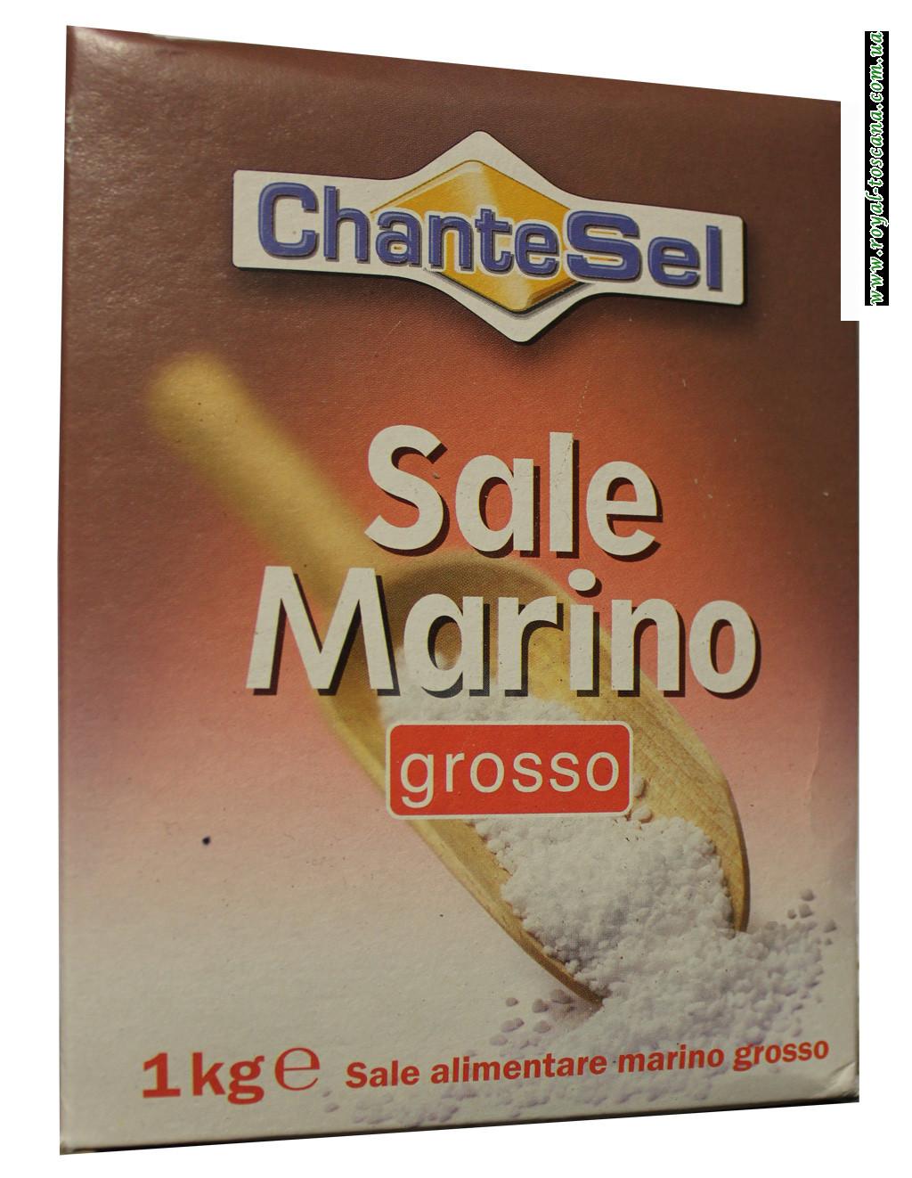 Соль морская Chante Sel Sale Marino Grosso