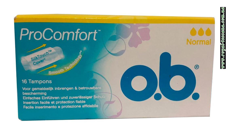 Тампоны O.b. Pro Comfort Normal