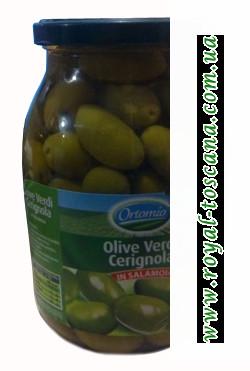 Оливки зеленые гигантские Ortomio