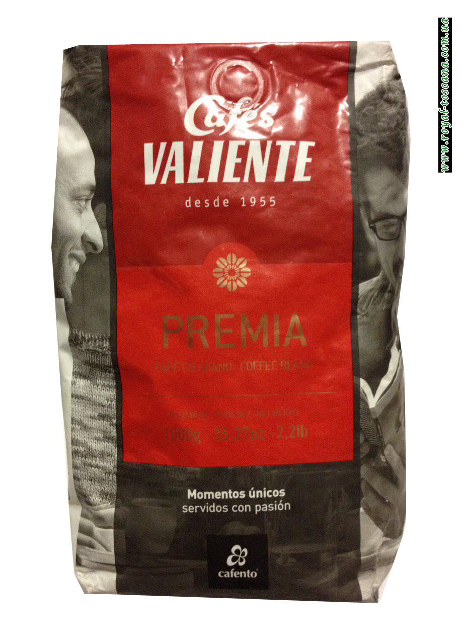 Кофе в зернах Cafes Valiente Premia