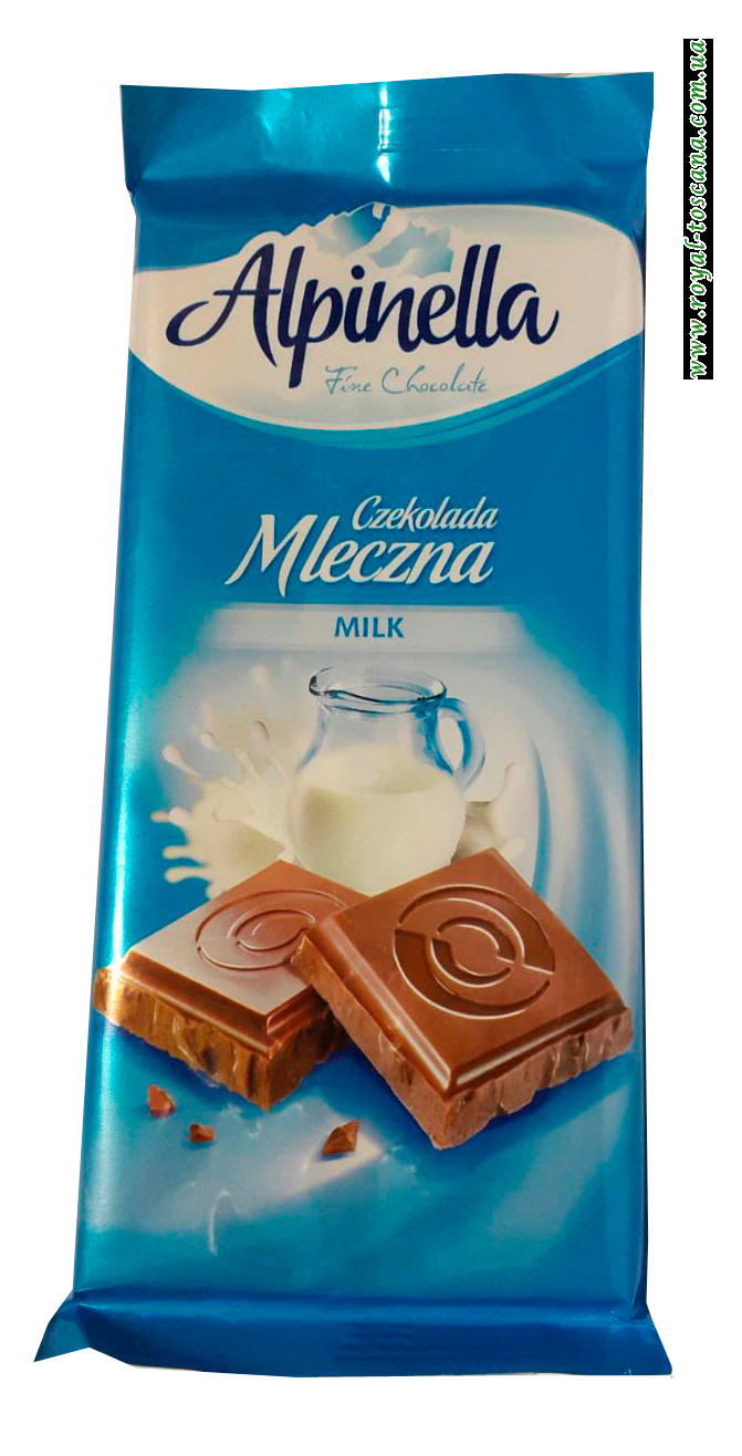Шоколад молочный Alpinella Czekolada Mleczna