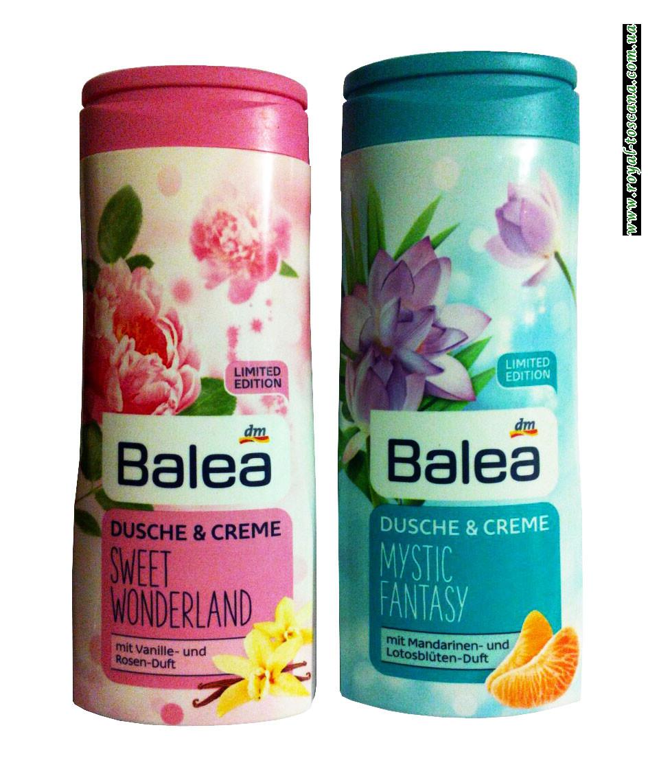 Гель-душ крем Balea Dusche & Creme, в ассортименте.