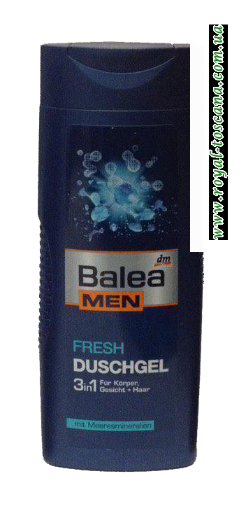 Гель для душа Balea Men Duschgel Fresh 3in1