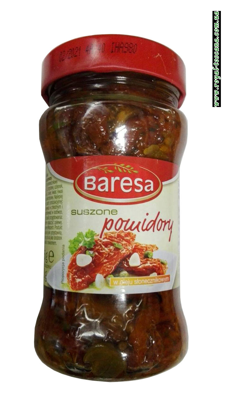 Помидоры вяленые в масле Baresa Suszone Pomidory