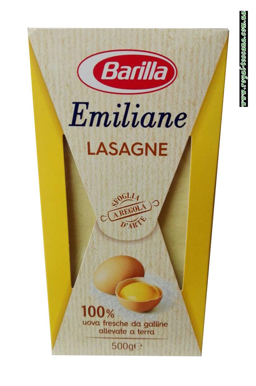 Листы для лазаньи Barilla Emiliane Lasegne