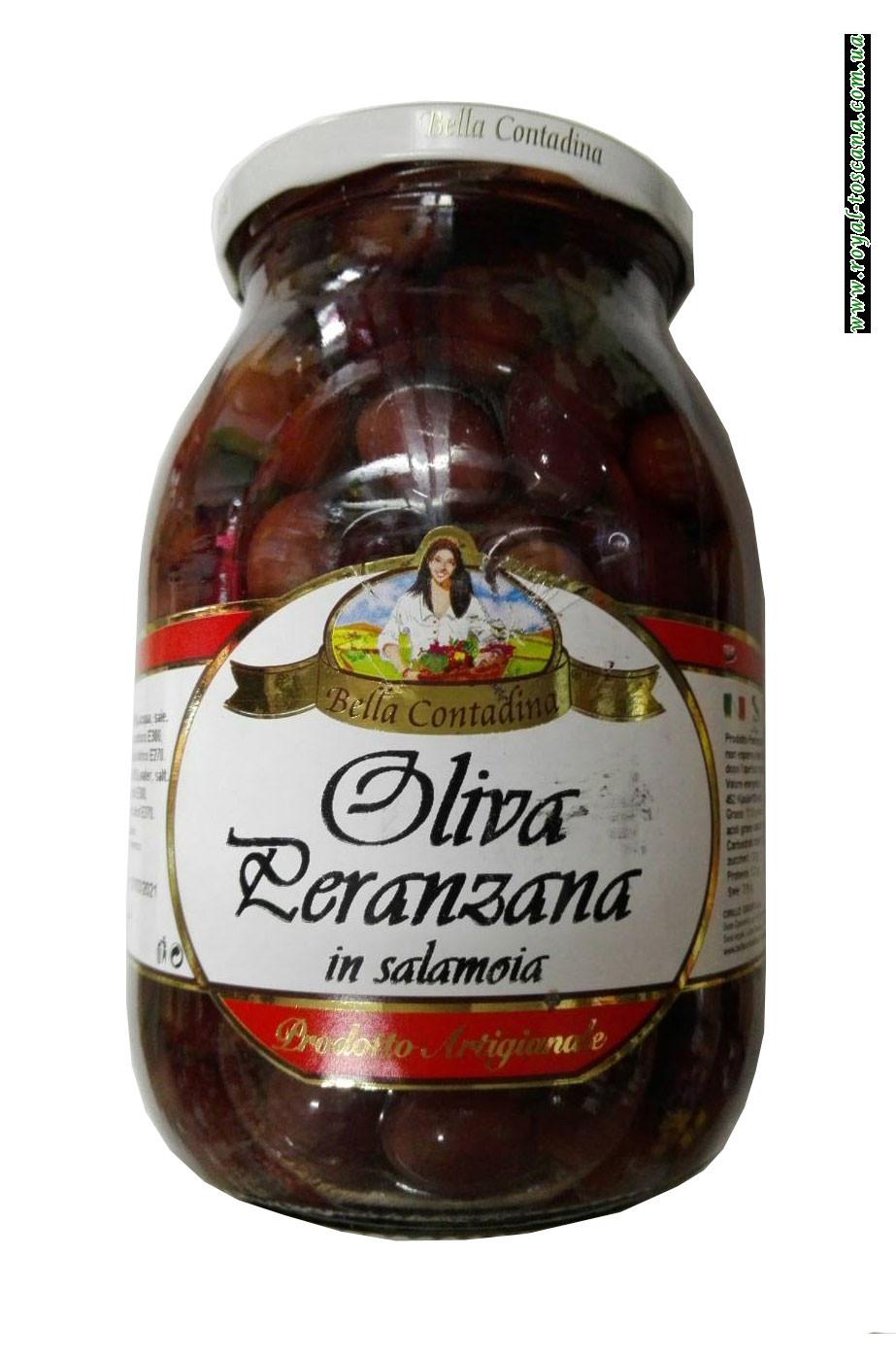 Оливки Bella Contadina Oliva Peranzana in Salamoia