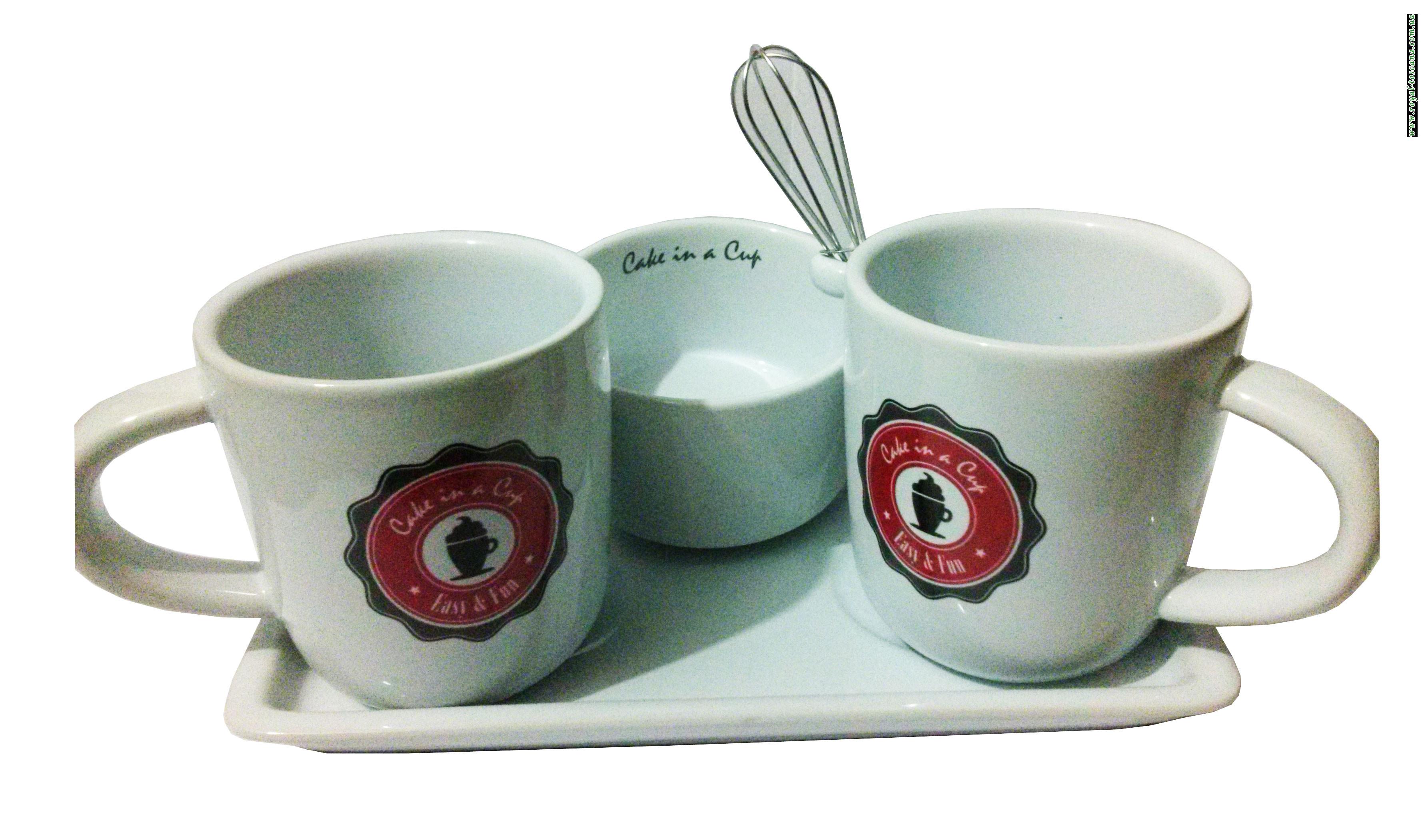 Набор для приготовления горячих напитков Cake in a Cup Easy & Fun