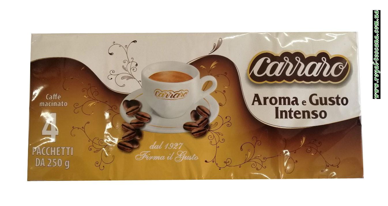 Кофе Carraro