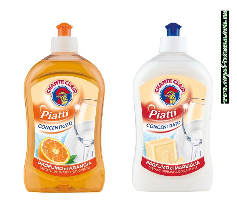 Жидкость для мытья посуды Chanteclair Piatti Concentrato, в ассортименте.