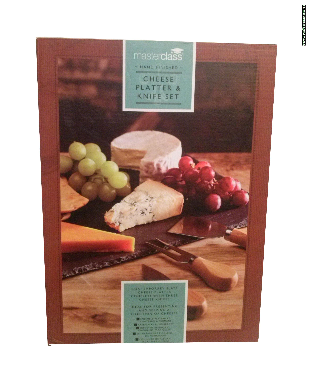 Набор для резки сыра Master Class Cheese Platter & Knife Set