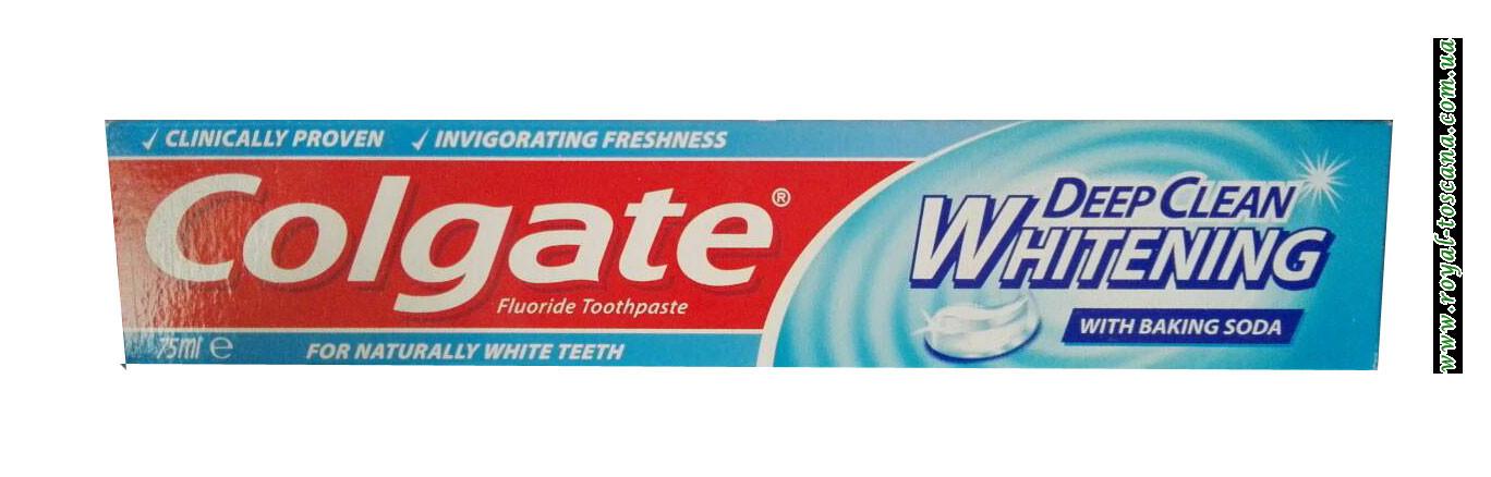 Зубная паста Colgate Deep Clean Whitening