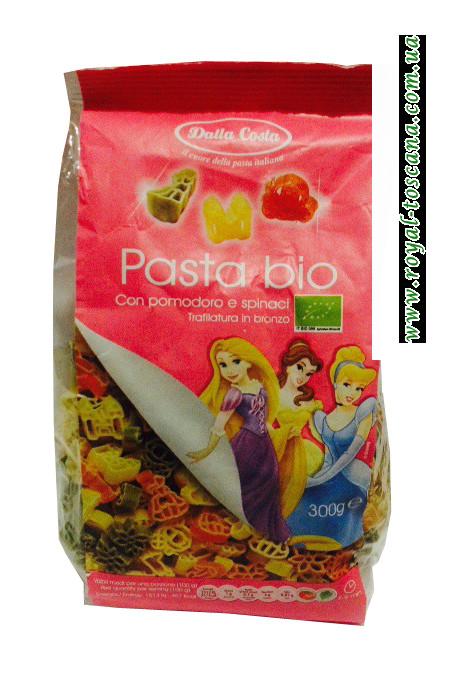 Макароны детские Princes Dalla Costa Pasta Bio