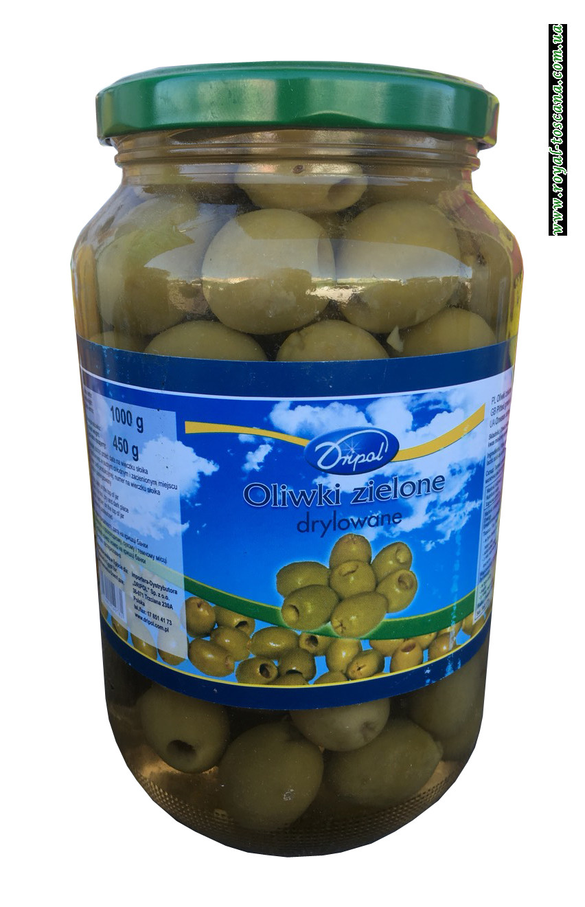 Оливки зеленые Dripol Oliwki Zielone