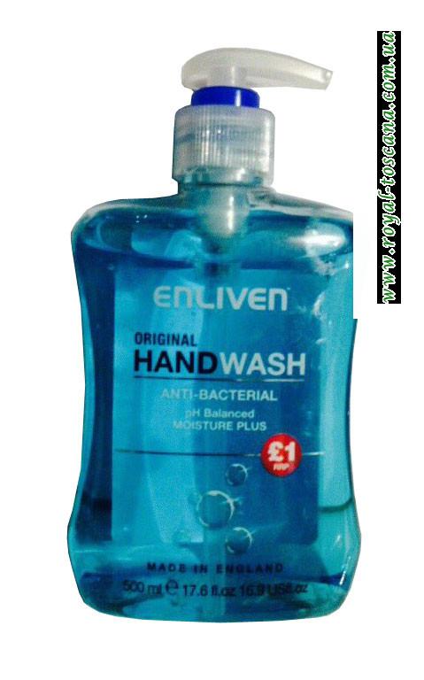 Жидкое мыло для рук антибактериальное Enliven Hand Wash Original pH Balanced Moisture Plus