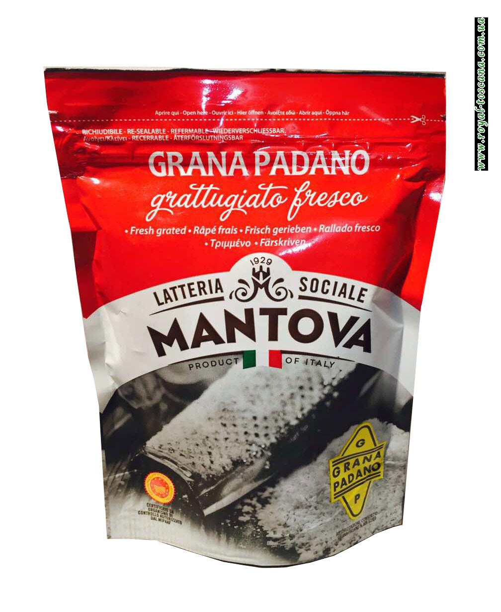 Сыр тертый Mantova Grana Padano