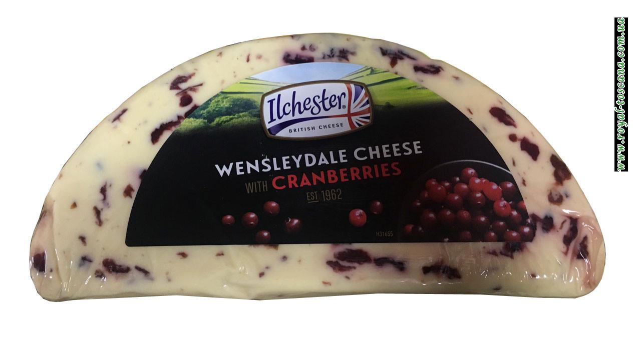 Сыр с клюквой Ilchester Wensleydale Cheese With Cranberries