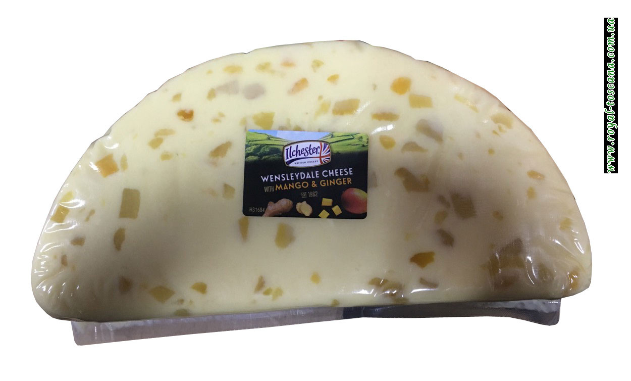 Сыр Ilchester Wensleydale Cheese With Mango & Ginger