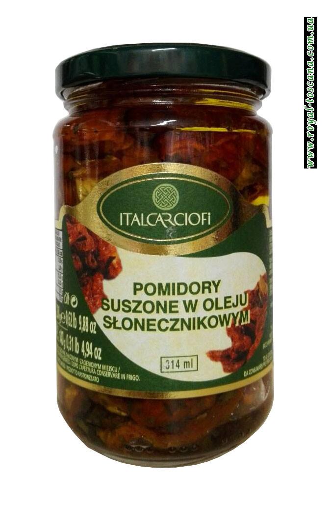 Вяленые помидоры в подсолнечном масле Italcarciofi Pomidory Suszone w Oleju