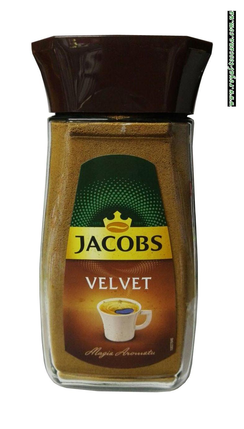 Кофе растворимый Jacobs Velvet