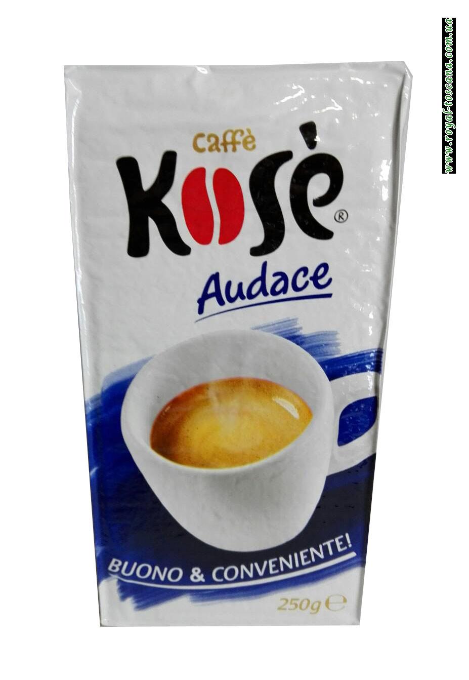 Кофе молотый Kose Audace